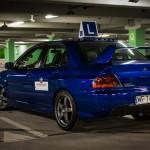 Nowy samochód szkoleniowy - Mitsubishi EVO IX